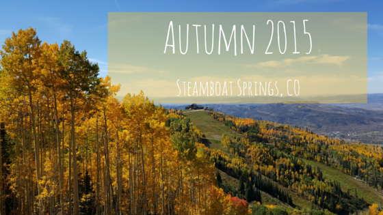 Steamboat Springs Fall 2015